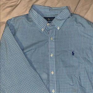 Men's polo Ralph Lauren long sleeve button up